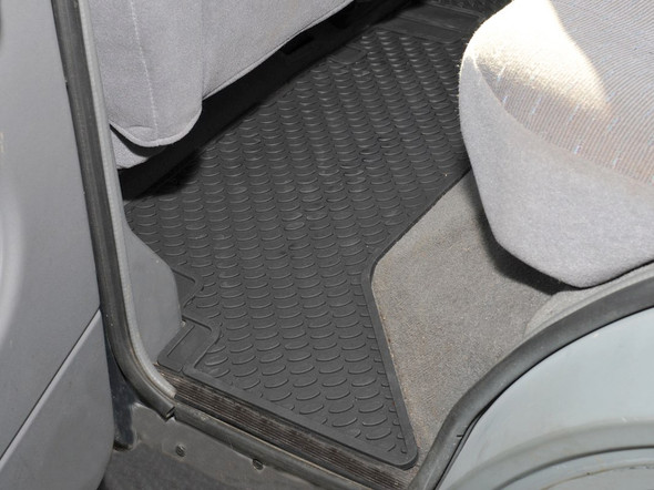 Land Rover Discovery 1 Rubber Floor Mat Set Black RHD / LHD - DA4427
