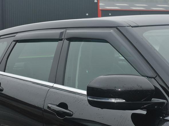 JGS4x4 | Land Rover Range Rover Evoque Window Wind Deflector Set - DA6094