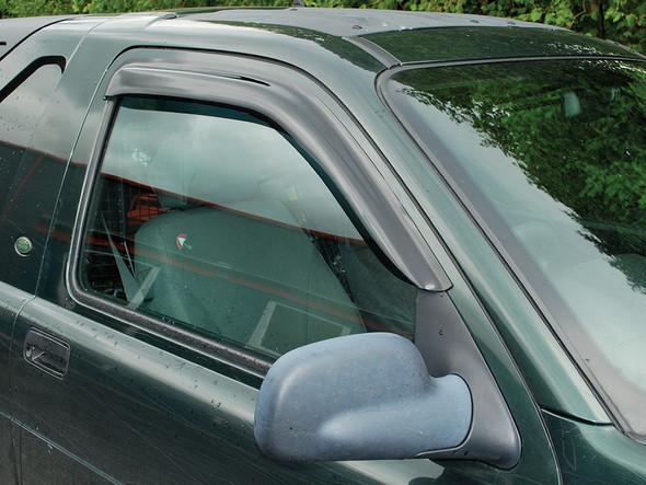 JGS4x4 | Land Rover Freelander 1 Front Window Wind Deflector Set - DA6073