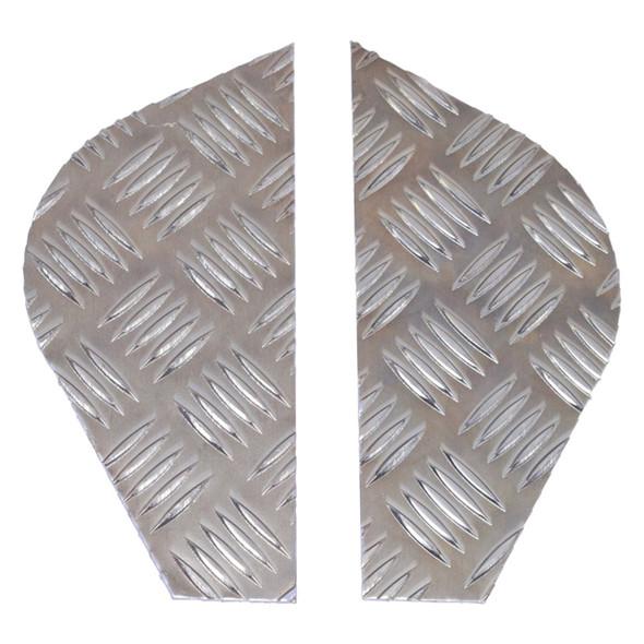 Series Chequer Plate Rear Wing Pair - DA4074