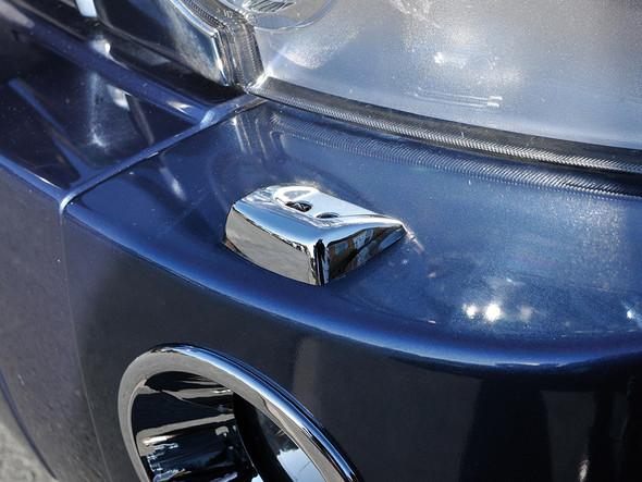 JGS4x4   Land Rover Range Rover Sport L320 Chrome Headlight Washer Jet Cap Pair - DA5661