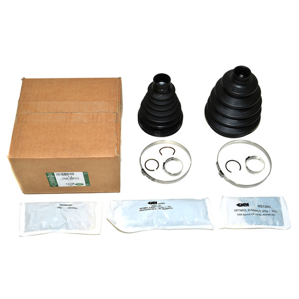 Discovery 3/4 Front Driveshaft CV Boot Kit - TDR500110