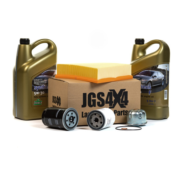JGS4x4 | Land Rover Discovery 2 Td5 Engine Service Filter Kit & 5W30 ROCK Synthesis F Synthetic Oil -