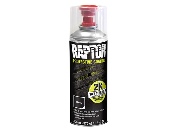 JGS4x4 | UPOL RAPTOR 2K Aerosol Black Ultra Tough Truck Bed Liner Spray On Coating