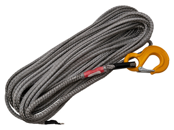 JGS4x4 | Land Rover Dyneema Synthetic Winch Rope With Recovery Hook - DB1357