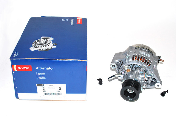 JGS4x4   Land Rover Defender TD5 Alternator With Vacuum Pump DENSO - ERR6999G