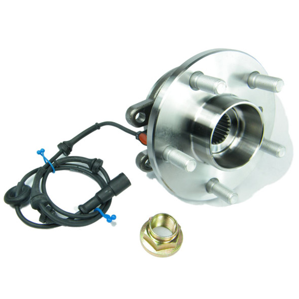 JGS4x4   Land Rover Discovery 2 Front OEM Wheel Bearing Hub Assembly With ABS Sensor - TAY100060