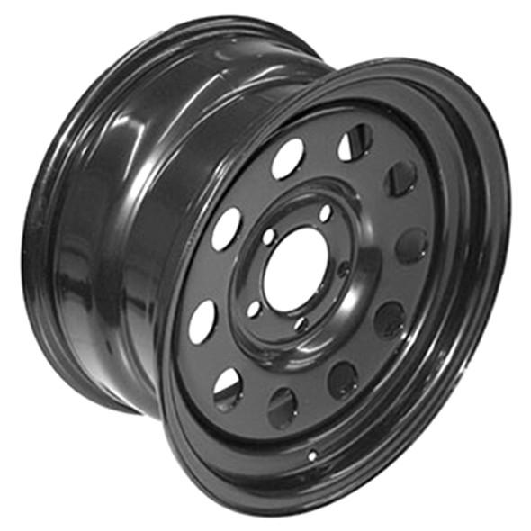 Discovery 2 & Range Rover P38 Modular Steel Wheel Black Terrafirma - GRW012