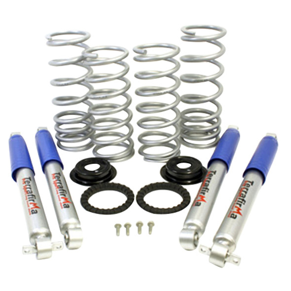 JGS4x4 | Land Rover Discovery 2 Suspension Lift Kit With Pro Sport Shock Absorbers Medium Load - TF229