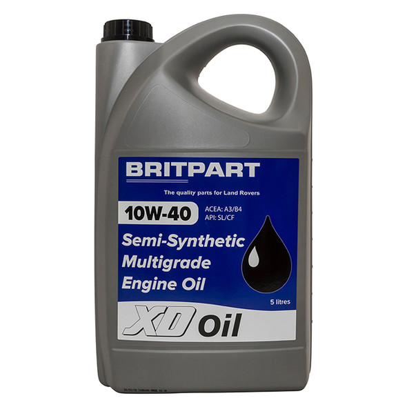 10W-40 XD Semi-Synthetic Engine Oil 5 Litre - DA1530