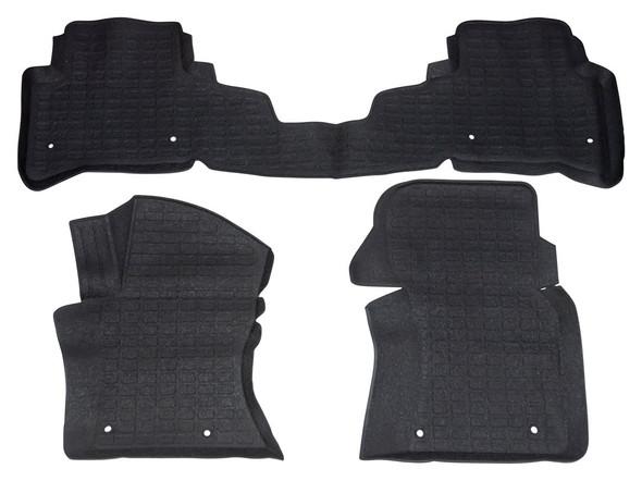Land Rover Range Rover Velar L560 Rubber Floor Mat Set Black LHD - DA4861