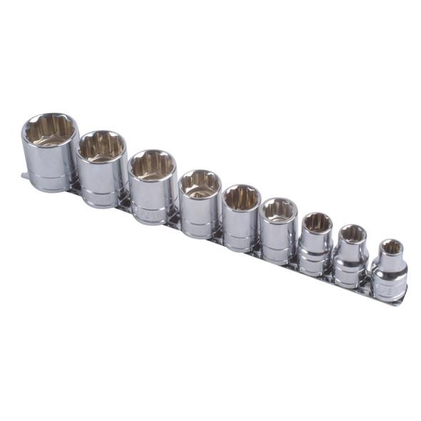 "1/2"" Drive Whitworth Socket Set Laser - DA1663"