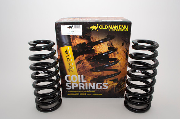 JGS4x4 | Land Rover Discovery 3 L319 OME Rear Coil Springs Plus 50mm Heavy Load - 2743