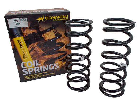 JGS4x4   Land Rover Discovery 2 L318 OME Rear Coil Springs Plus 40mm Light Load - 2781