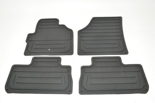 Land Rover Freelander 2 L359 Front & Rear Rubber Floor Mat Set Black RHD - VPLFS0233LR
