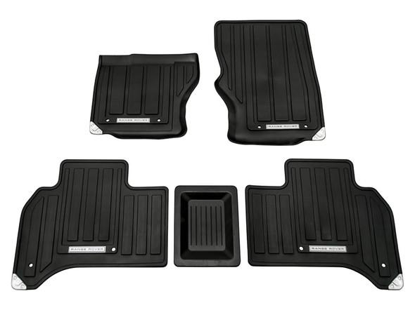 Land Rover Range Rover L405 Front & Rear Rubber Floor Mat Set Black LHD - VPLGS0150LR
