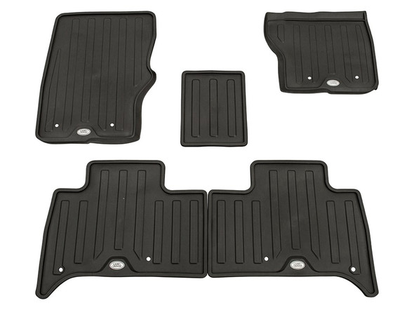 Land Rover Discovery 5 L462 Front & Rear Floor Rubber Mat Set Espresso RHD - VPLRS0332AAMLR