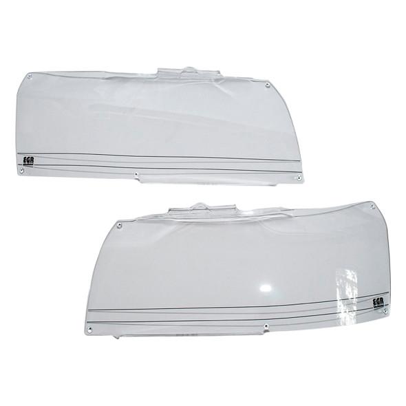Freelander 2 Front Acrylic Headlight Protector Pair Climair - DA1287