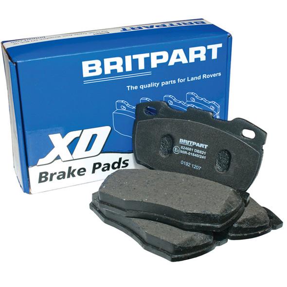 JGS4x4 | Discovery 5 L462 2016 Onwards Rear Brake Pads Britpart XD - LR108260
