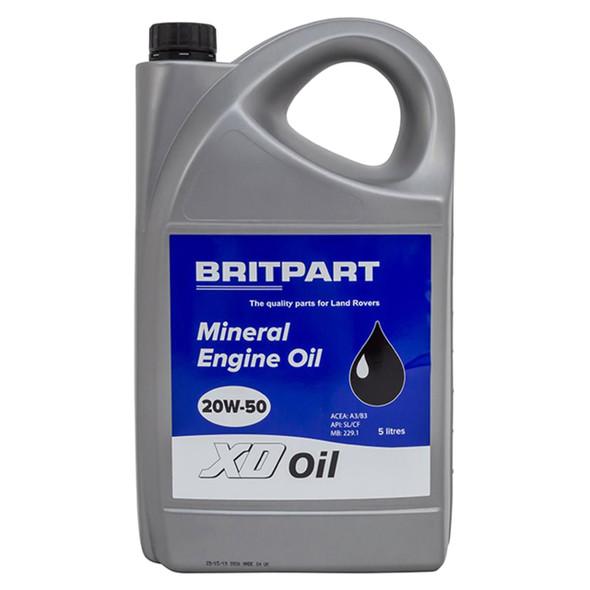 XD Mineral Engine Oil 5 Litre - DA1823