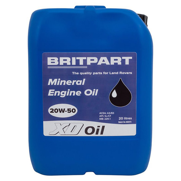XD Mineral Engine Oil 20 Litre - DA1824
