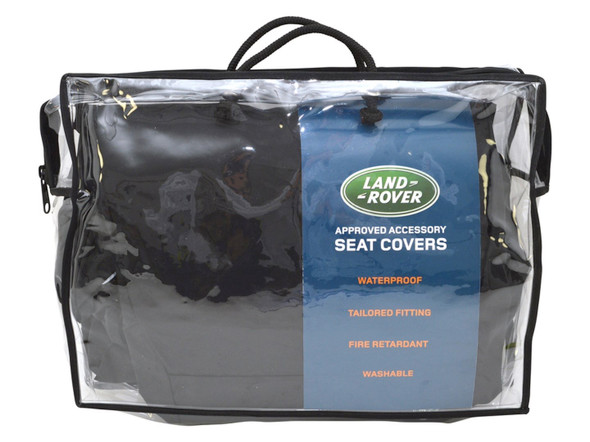 Land Rover Discovery Sport L550 Rear Premium Waterproof Seat Covers Black - VPLCS0292PVJLR