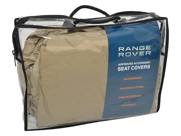 Land Rover Range Rover L405 Rear Premium Waterproof Seat Covers Almond - VPLGS0155SVALR