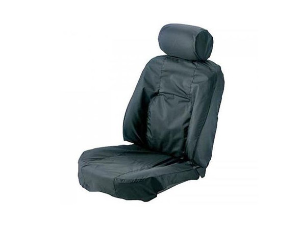 Land Rover Range Rover L322 Front Premium Waterproof Seat Covers Navy - HBD000320JMNLR