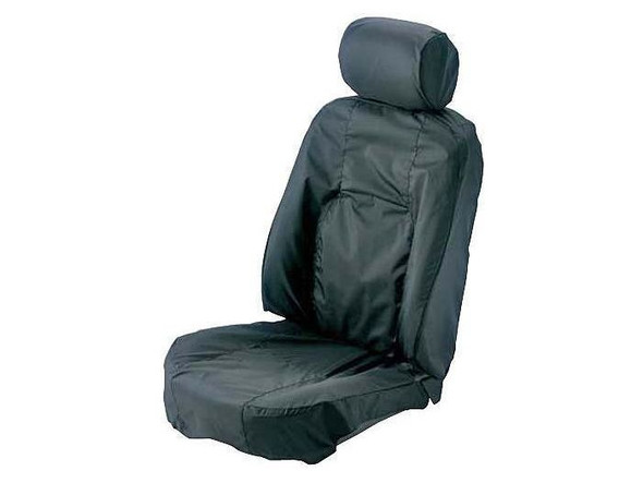 Land Rover Range Rover L322 Front Premium Waterproof Seat Covers Charcoal - HBD000320LYRLR