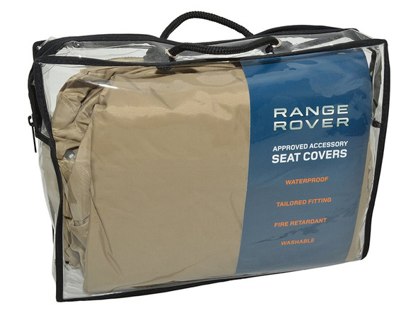 Land Rover Range Rover Sport L494 Front Premium Waterproof Seat Covers Almond - VPLWS0228SVALR