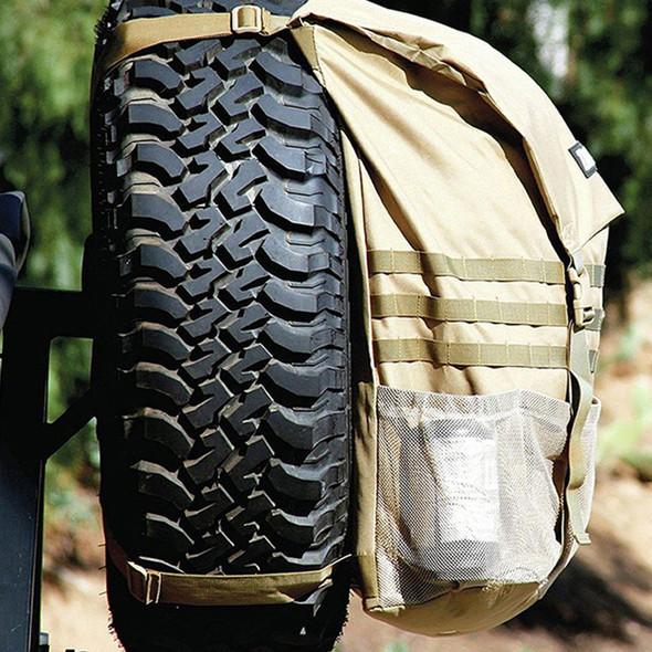 Off Road Spare Tyre Trash Bag Beige Trasharoo - DA1592