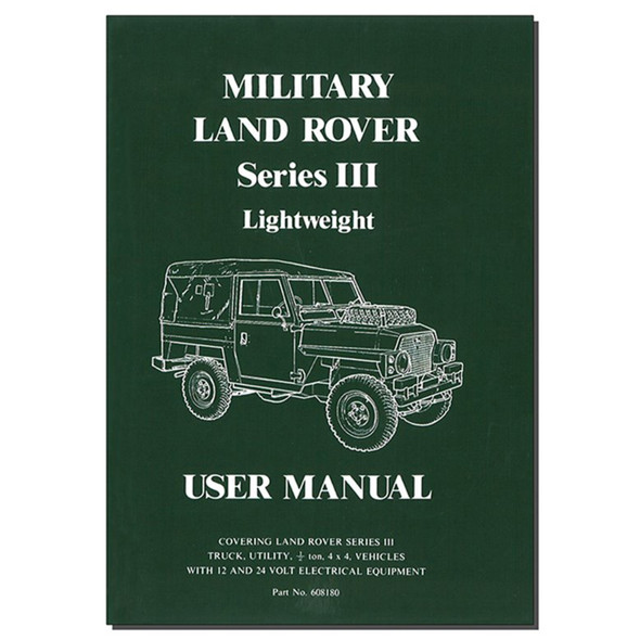 Series 3 User Manual Book - 608180