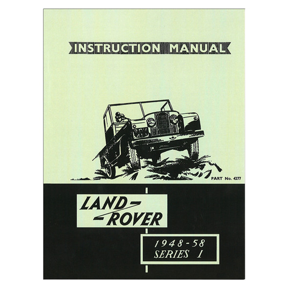 Series 1 Instruction Manual - DA1625