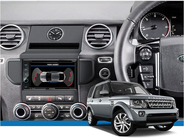 Discovery 4 Double DIN Radio Installation Kit