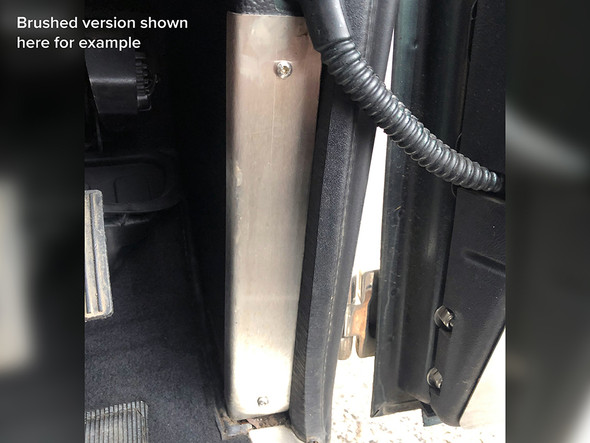 Land Rover Defender Stainless Steel A-Post Trim - DA4871