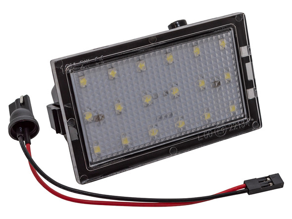 JGS4x4 | Land Rover Discovery 3 LED Number Plate Lamp - XFC500040LED
