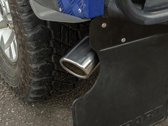 Defender 90 TD5 & Puma Big Bore Rear Silencer Delete Pipe