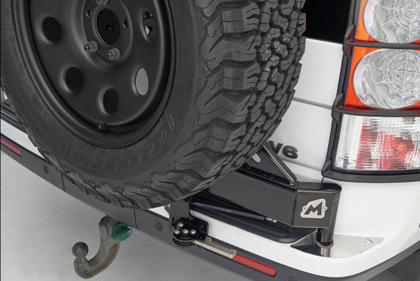 Discovery 3 & 4 Swing Away Spare Wheel Carrier TERRAFIRMA