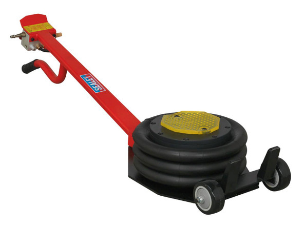 JGS4x4 | Air Operated Fast Jack 3 Tonne Three Stage - Long Handle Sealey PAFJ3