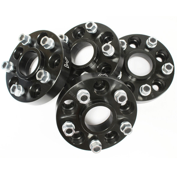 Discovery 2 Black Hubcentric Wheel Spacers 30mm TERRAFIRMA - TF302B