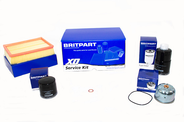 Land Rover Discovery 2 L318 Td5 Engine Service Filter Kit - DA6004XD-1