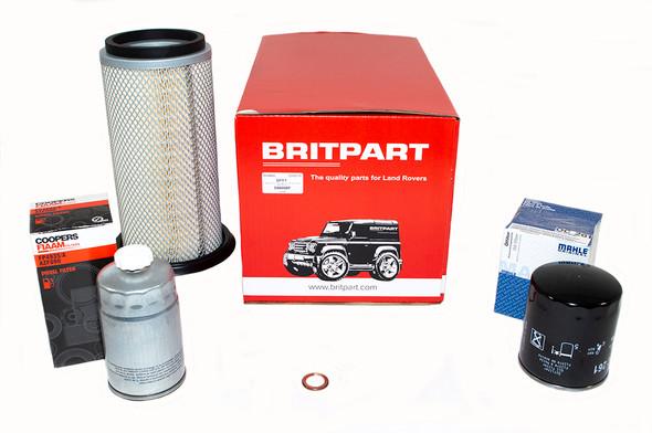 Land Rover Range Rover Classic 200Tdi OEM Premium Engine Service Filter Kit - DA6006P-1