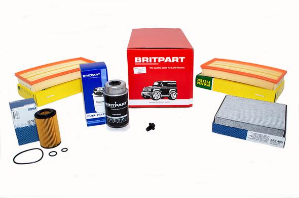 Land Rover Range Rover L405 4.4 V8 diesel OEM Premium Engine Service Filter Kit - DA6096P-1