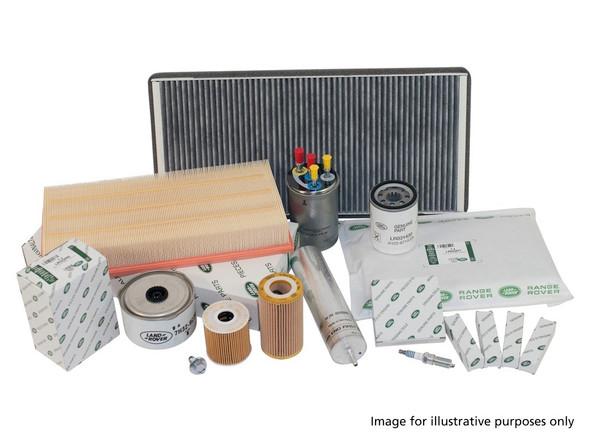 Land Rover Range Rover L405 3.0 V6 petrol engine service filter kit with Genuine Land Rover - DA6098LR-1