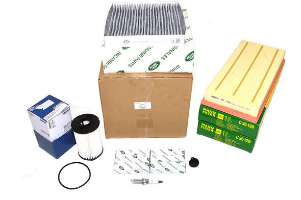 Land Rover Range Rover L405 3.0 V6 petrol OEM Premium Engine Service Filter Kit - DA6098P-1