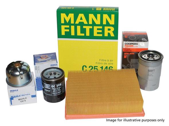 Range Rover Evoque L538 2.0l diesel (AJ200) OEM Premium Engine Service Filter Kit - DA6123P