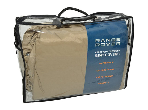 Land Rover Range Rover L322 Front Premium Waterproof Seat Covers Almond - VPLMS0085SVALR