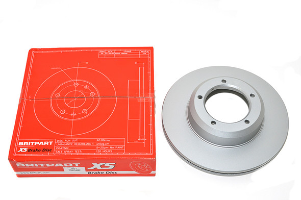 Land Rover Range Rover Classic Front Vented Brake Discs - Exact OEM Specification - LR017952G-3