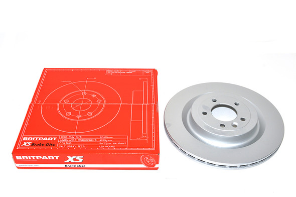 Land Rover Range Rover Sport L494 Rear Vented Brake Discs 365mm - Exact OEM Specification - LR033303G-1