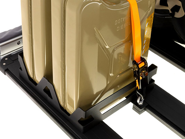 ARB Base roof rack jerry can holders double - vertical - 1780340